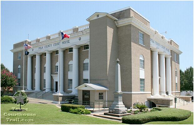 Polk County Courthouse - Livingston, Texas - Photograph Page 2
